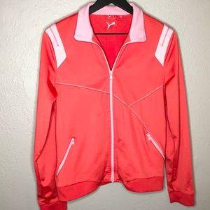 Puma full zip track jacket sweatshirt